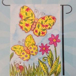 Butterfly Small Garden Flag  12.5 x 18 inch